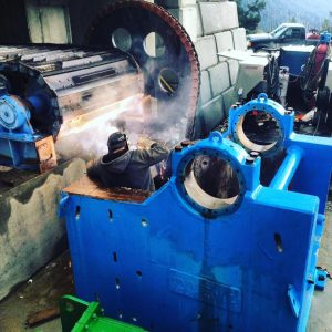Mining Equipment Install